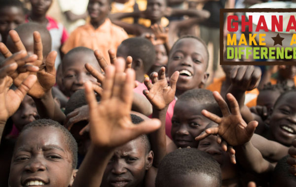 GHANA MAKE A DIFFERENCE VOLUNTEERS